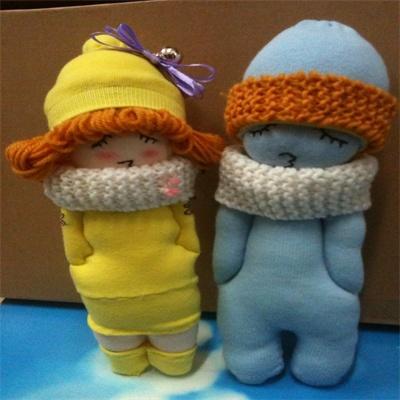 布之道系列之-袜子娃娃图片